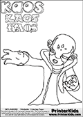 Skylanders Swap Force - Kaos - Coloring Page 6 THICK LINE
