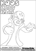 Skylanders Swap Force - Kaos - Coloring Page 11 Editors Choice