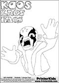 Skylanders Swap Force - Kaos - Coloring Page 47 Editors Choice