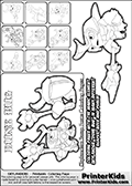 Skylanders Swap Force coloring page with a group of Dune Bug Skylanders. This Dune Bug kids coloring page was originally designed as a section image for the Dune Bug Skylanders Swap Force coloring section at PrinterKids. Print and color this Skylanders Swap Force DUNE BUG coloring sheet for kids that is drawn and made available by Loke Hansen (http://www.LokeHansen.com) based on images from the official Skylanders Swap Force website and the Skylanders Swap Force Game.