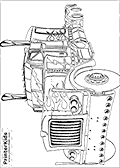 This Transformers coloring page is available as a free printable colouring sheet and as an online coloring page. <br><br>You can print this Transformers coloring page or download it as a coloring page PDF or image file that you can email or store on your computer. You can even save the Transformers coloring page to your iPad camera roll and use it with your favorite apps! <br><br>Print or color the colouring page via the large buttons shown next to the image. If you want to color the Transformers page online - you can add unique gears, fire and even lightning to the Transformers coloring page!