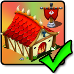 Positiv (+20%) fire Boost Building for Flamme dragons