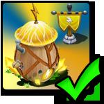 Positiv (+20%) lightning Boost Building for Kærligheds dragons