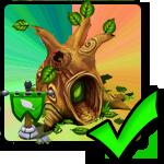 Positiv (+20%) plant Boost Building for Kærligheds dragons