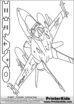 Panes Bravo 1 Flying Disney Planes Coloring Pages