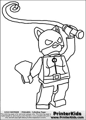 lego batman catwoman with - Batman Catwoman Coloring Pages