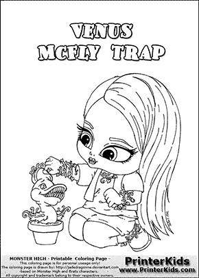 Venus Baby Free Coloring Pages