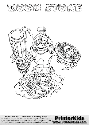 meet the swap force skylanders coloring