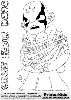 chaos skylanders coloring pages - photo#8