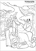 Online Coloring Page with Hercules