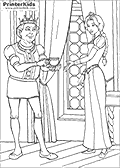 Online Coloring Page with Shrek