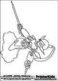 Online Coloring Page Ninjini from Skylanders