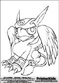 Online Coloring Page Sonic Boom From Skylanders Giants