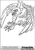 Online Coloring Page Sunburn From Skylanders