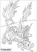Online Coloring Page with Tinkerbell - Coloring page #45 of 59