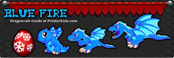 Dragonvale Guide bluefire