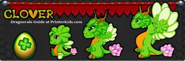 Dragonvale Guide clover