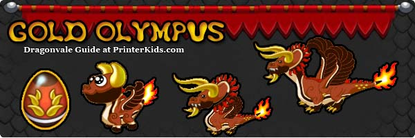 Dragonvale Guide goldolympus