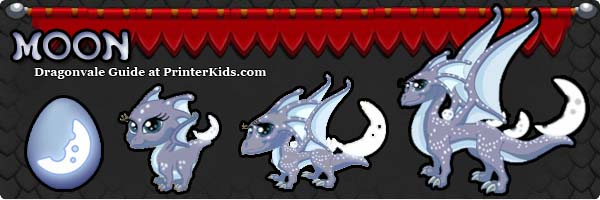Dragonvale Guide moon