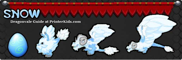 Dragonvale Guide snow