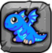 bluefire Dragonvale Baby Drage icon