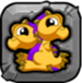 brass Dragonvale Baby Drage icon