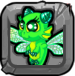 Emerald Dragonvale Baby Drage
