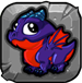 obsidian Dragonvale Baby Drage icon