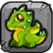 peridot Dragonvale Baby Dragon