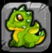 Peridot Dragonvale Baby Drage