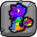 rainbow Dragonvale Baby Dragon