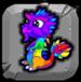 Rainbow Dragonvale Baby Drage