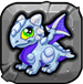 silver Dragonvale Baby Dragon