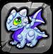 Silver Dragonvale Baby Drage