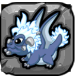 steel Dragonvale Baby Dragon