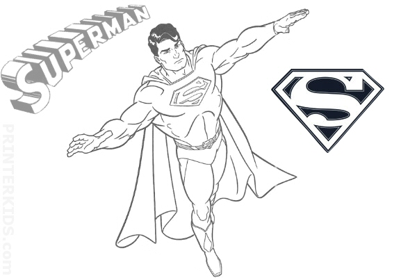 super man coloring page. strong superman coloring page. click to ... - Printable Coloring Pages Superman