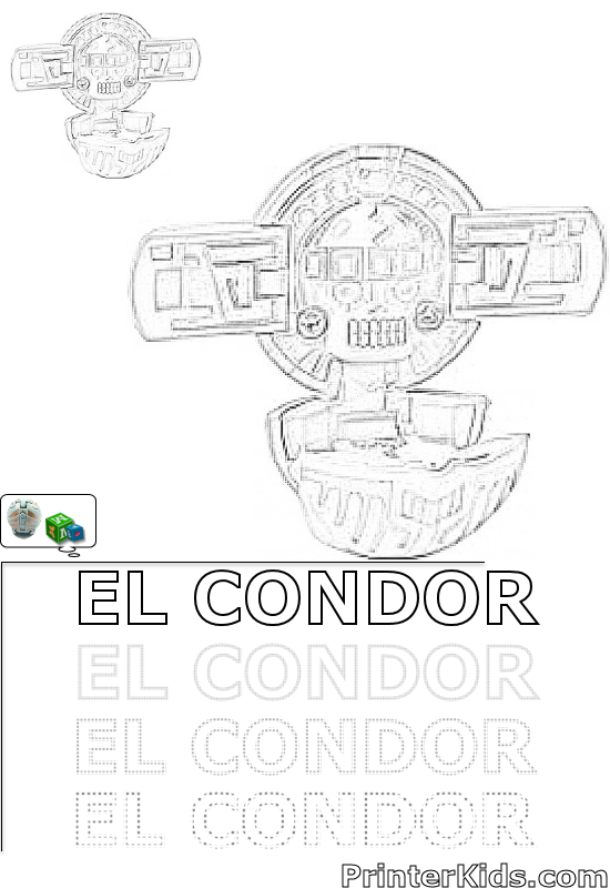 Free Coloring Pages Of Vulture In Condor