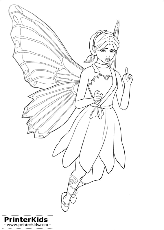 Barbie My Scene Coloring Pages Coloring Pages