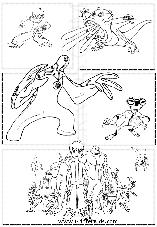 Ben 10 Upchuck Coloring Pages Pictures To Pin On Pinterest PinsDaddy