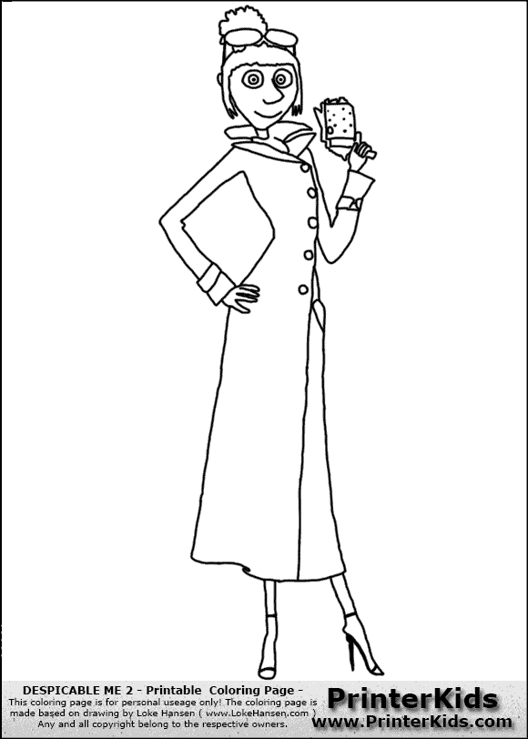 despicable me antonio coloring pages - photo#5