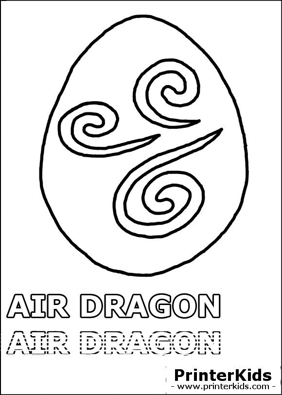 dragonvale air dragon egg coloring page