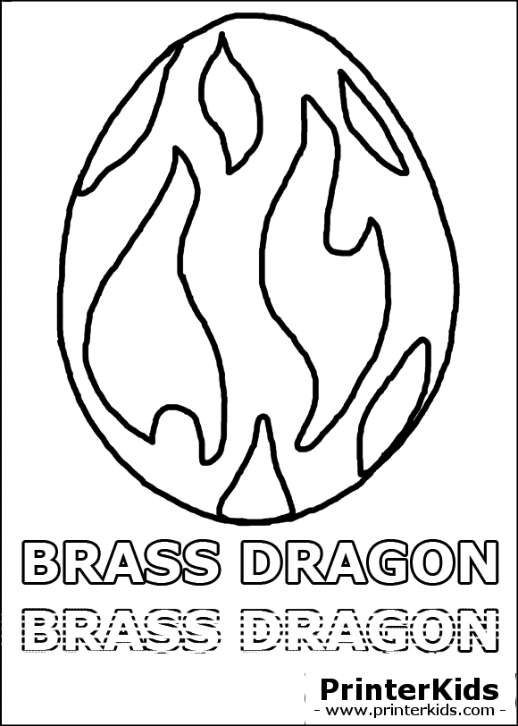 coloring pages dragonvale eggs - photo#15