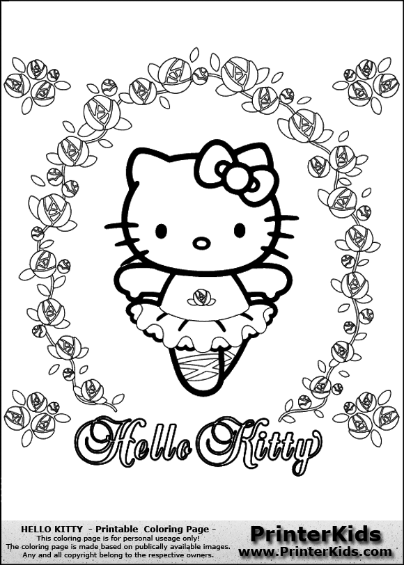 flower head coloring page flower head coloring pages with in addition ausmalbilder tiere on - Kitty Ballet Coloring Pages