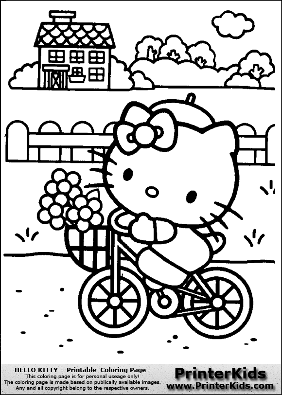 hello summer coloring pages free coloring pages of a b c mazes - Coloring Pages Kitty Summer