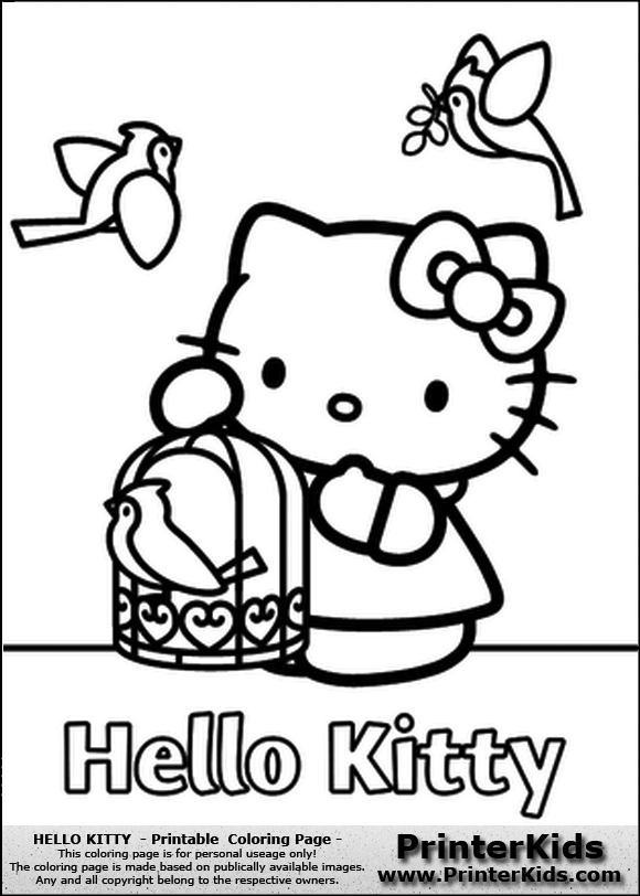 hello kitty coloring pages jpg pic 17