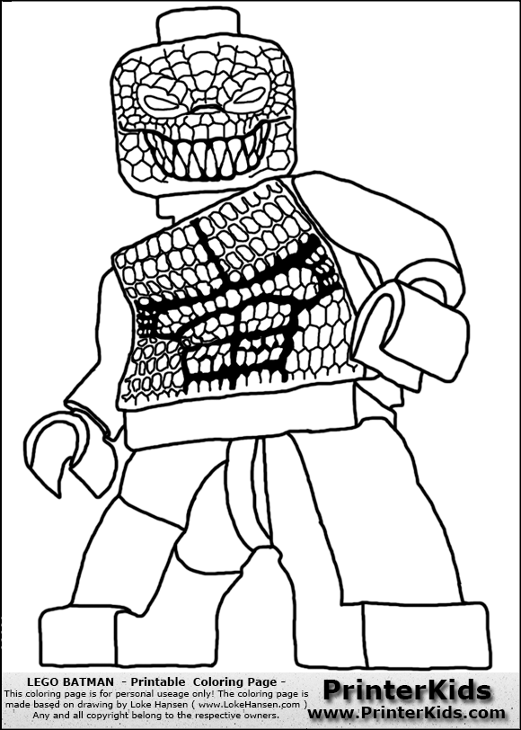 dc lego coloring pages - photo#33