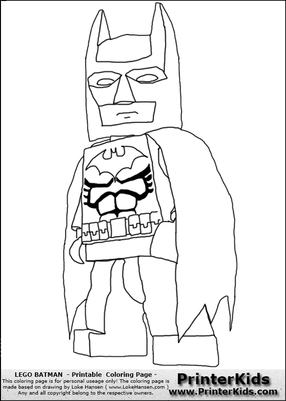 Free coloring pages of lego batman y robin