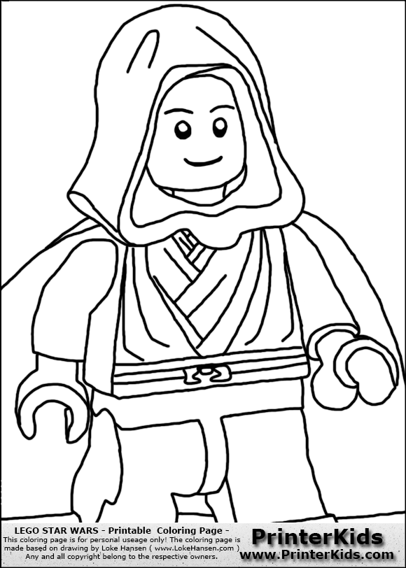 Phantom Menace Coloring Pages