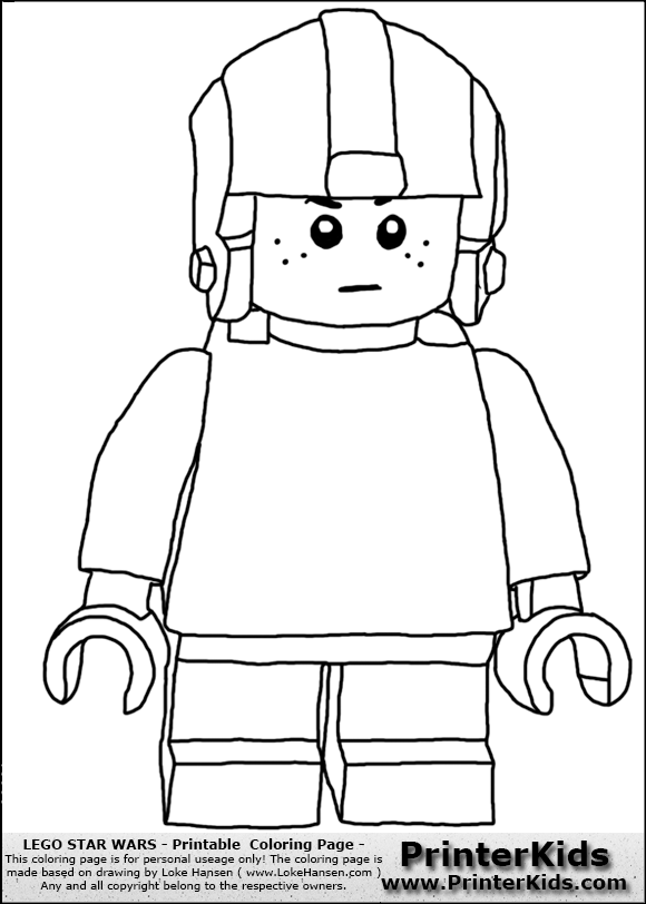 lego anakin skywalker coloring pages - photo#23