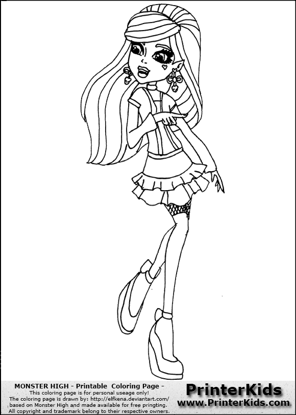 Famous Monster High Coloring Pages Frankie Stein Sweet 1600 Crest ...